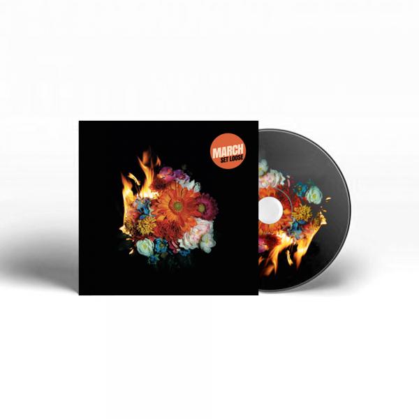 MARCH - Set Loose - CD MOCKUP